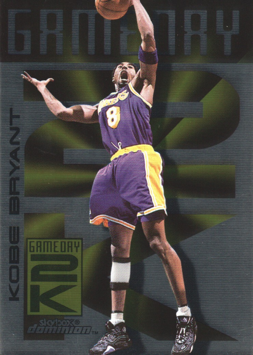1999-00 SkyBox Dominion Game Day 2K #2 Kobe Bryant front image
