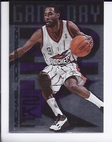 1999-00 SkyBox Dominion Game Day 2K #12 Michael Dickerson
