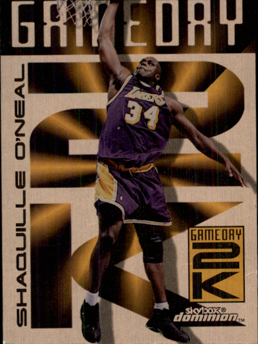 1999-00 SkyBox Dominion Game Day 2K Plus #7 Shaquille O'Neal