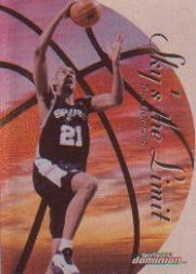 1999-00 SkyBox Dominion Sky's the Limit Plus #14 Tim Duncan