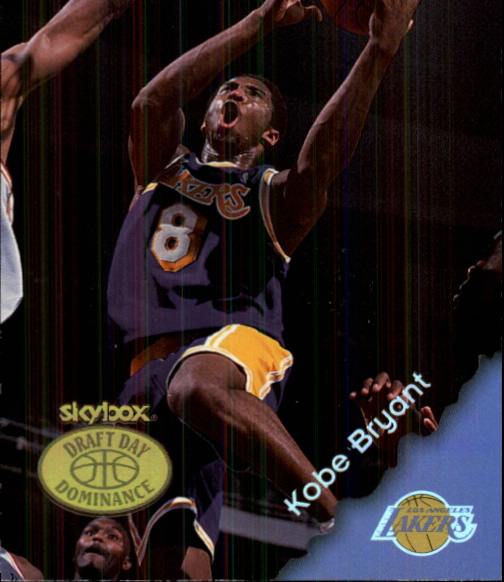 1999-00 Hoops Decade Draft Day Dominance #DD8 Kobe Bryant