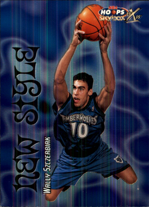 1999-00 Hoops Decade New Style #NS3 Wally Szczerbiak