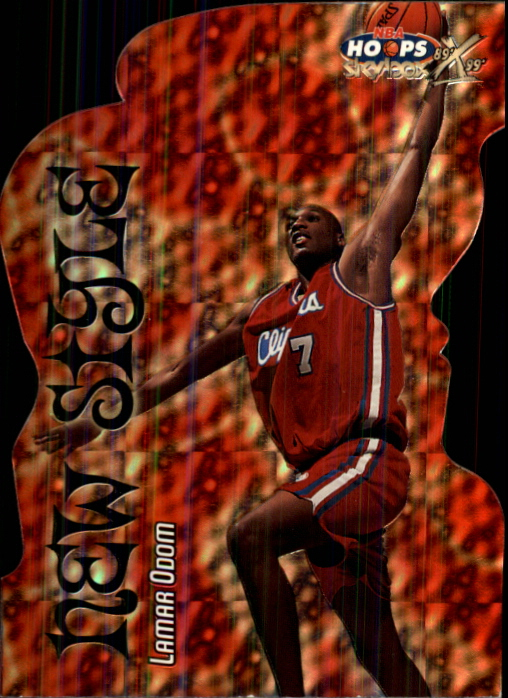1999-00 Hoops Decade New Style Parallel #NS2 Lamar Odom