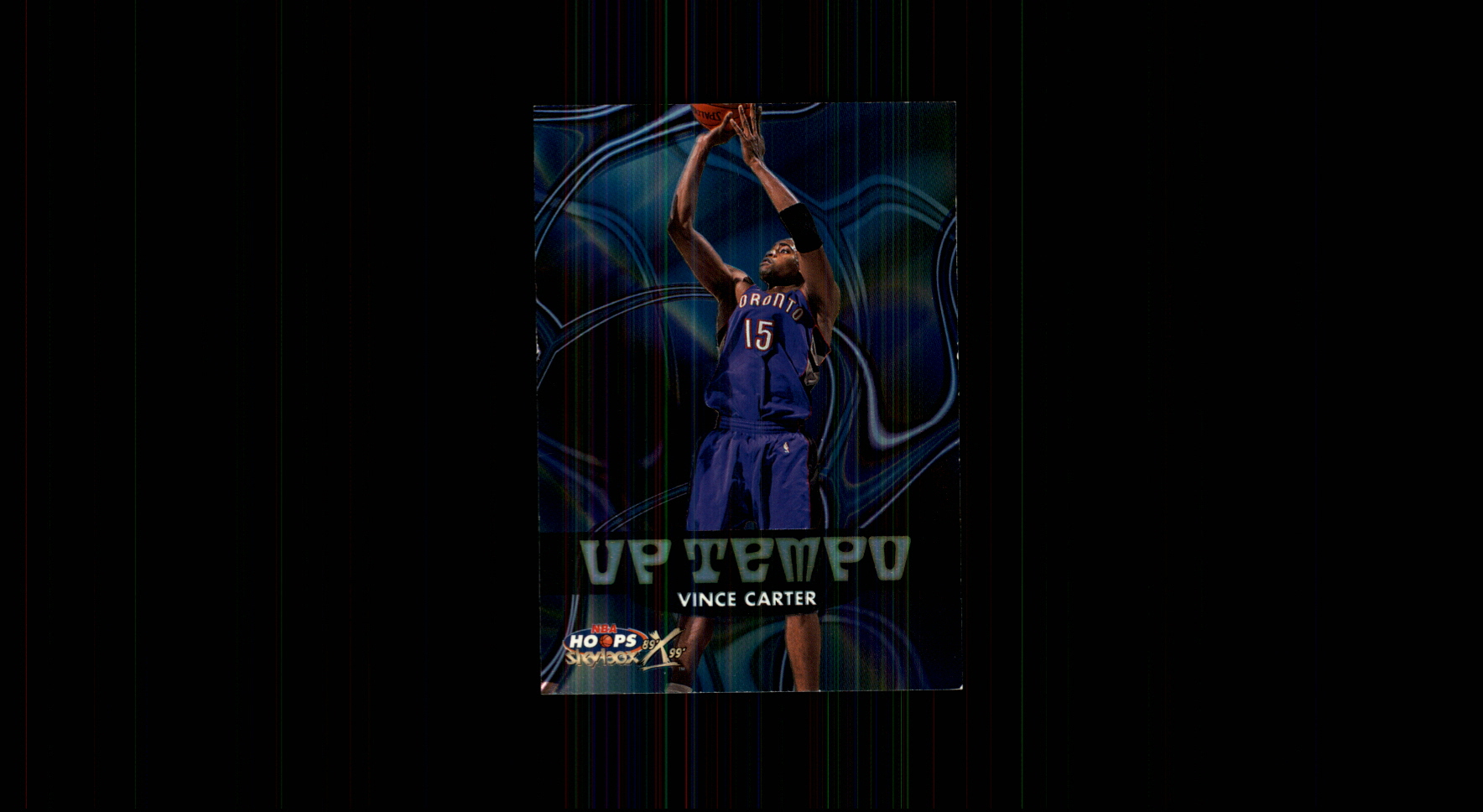 1999-00 Hoops Decade Up Tempo #UT8 Vince Carter