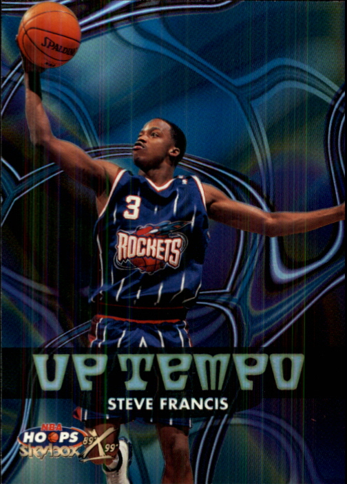1999-00 Hoops Decade Up Tempo #UT14 Steve Francis