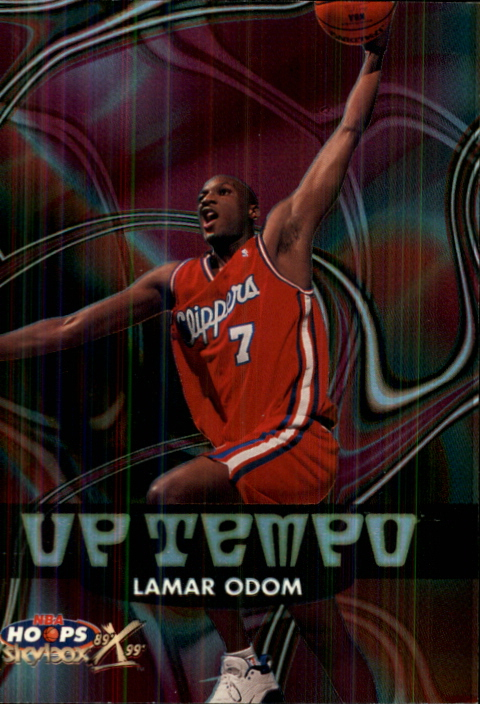 1999-00 Hoops Decade Up Tempo #UT15 Lamar Odom