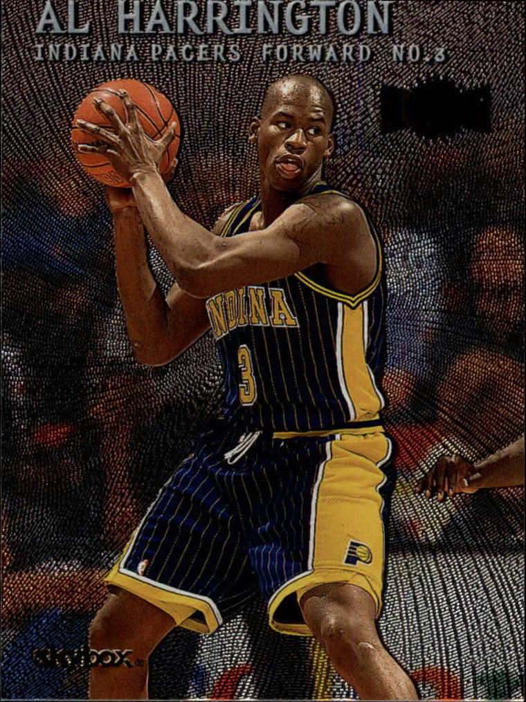 1999-00 Metal #12 Al Harrington