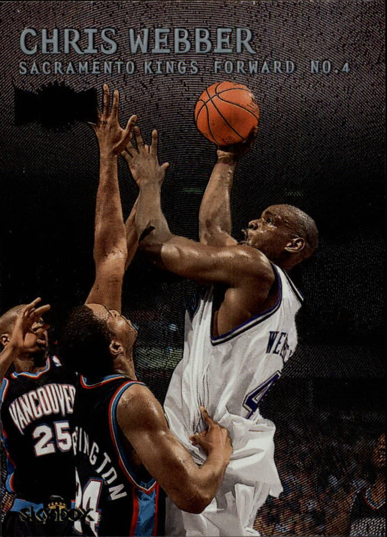 1999-00 Metal #140 Chris Webber