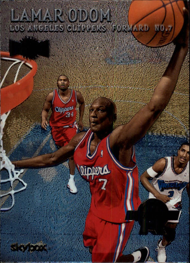 1999-00 Metal #151 Lamar Odom RC