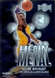 1999-00 Metal Heavy Metal #HM1 Kobe Bryant