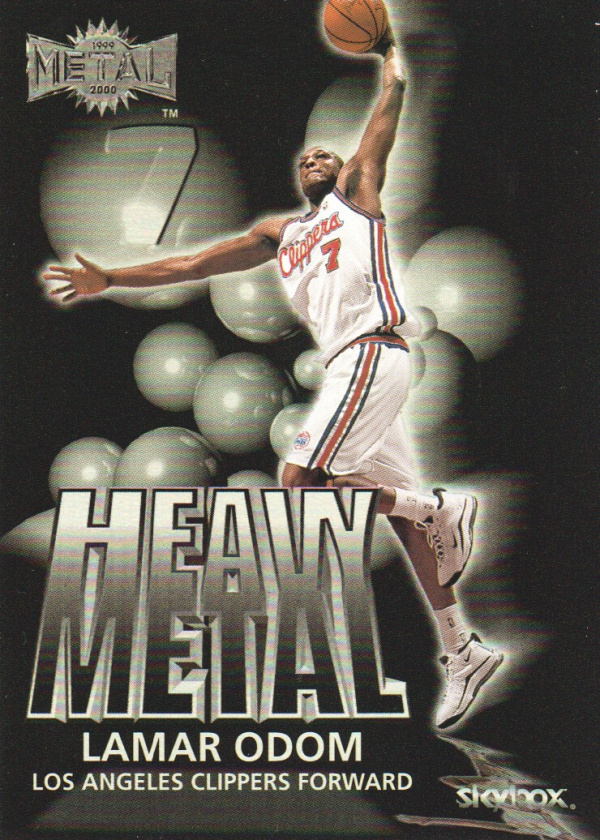 1999-00 Metal Heavy Metal #HM3 Lamar Odom