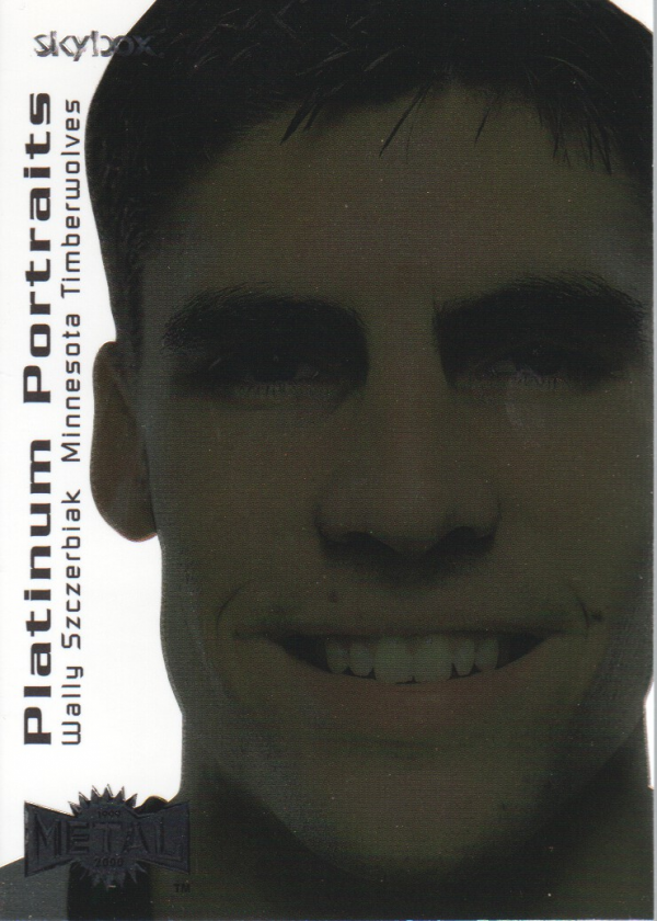1999-00 Metal Platinum Portraits #PP10 Wally Szczerbiak