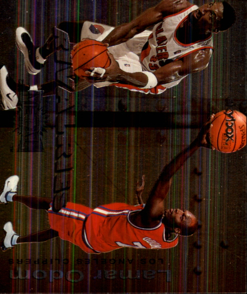 1999-00 Metal Rivalries #R15 Lamar Odom/Scottie Pippen