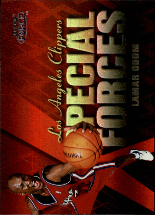 1999-00 Fleer Force Special Forces Forcefield #SF2 Lamar Odom