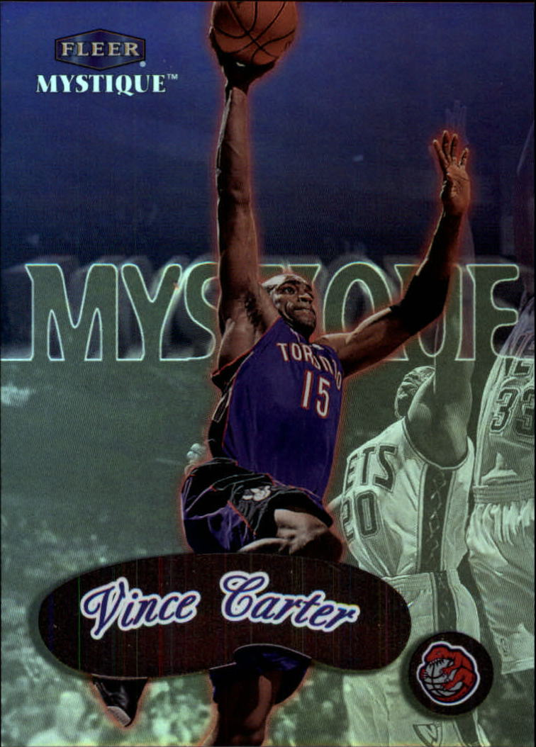 1999-00 Fleer Mystique #94 Vince Carter