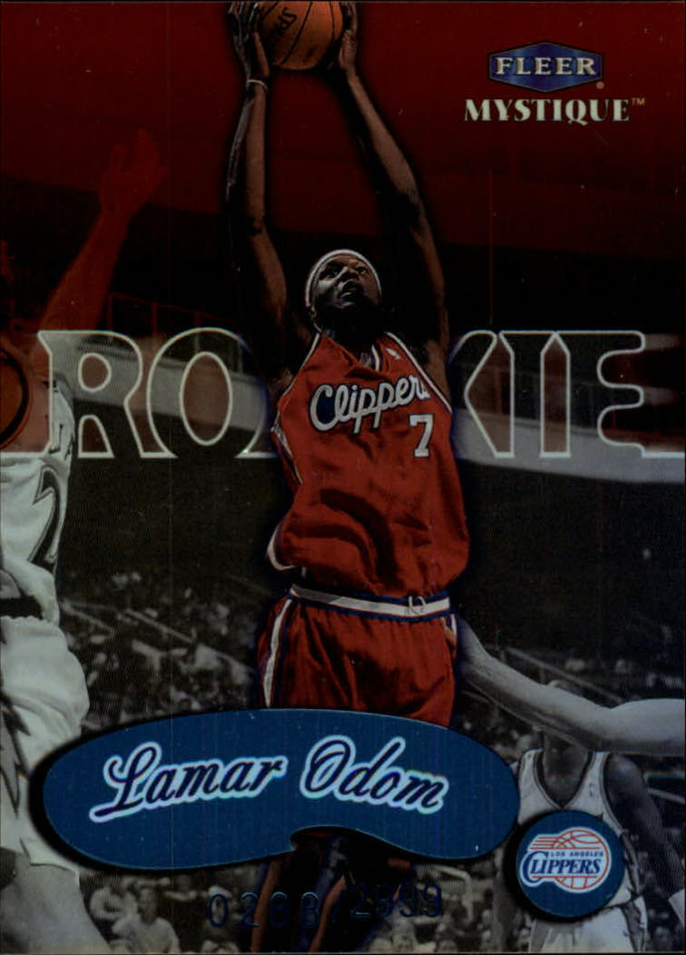 1999-00 Fleer Mystique #101 Lamar Odom RC