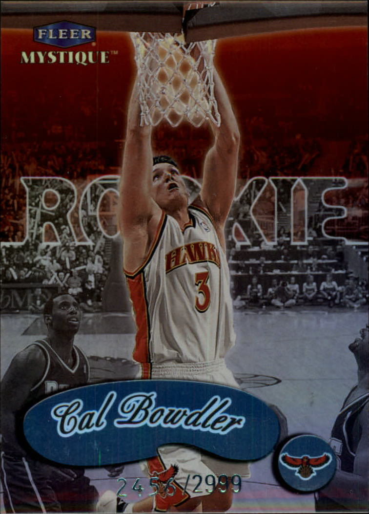 1999-00 Fleer Mystique #127 Cal Bowdler RC