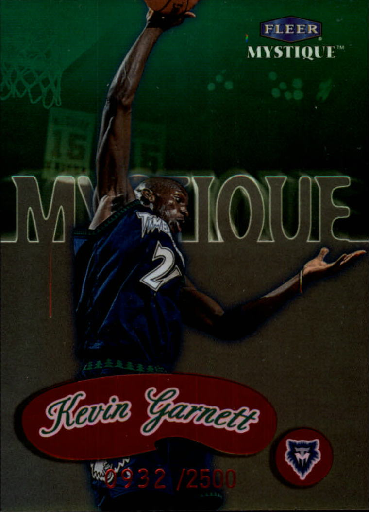 1999-00 Fleer Mystique #144 Kevin Garnett STAR
