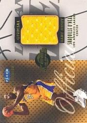 1999-00 Fleer Mystique Feel the Game #6 Shaquille O'Neal