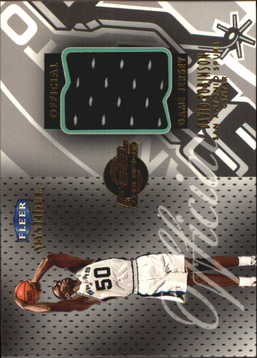 1999-00 Fleer Mystique Feel the Game #8 David Robinson