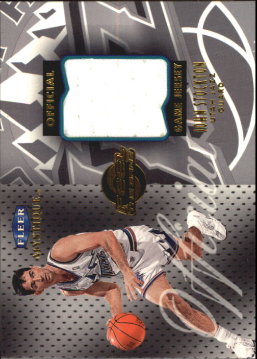 1999-00 Fleer Mystique Feel the Game #11 John Stockton