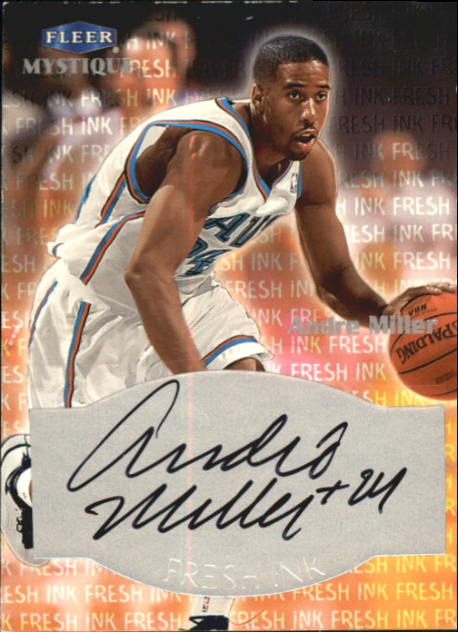 1999-00 Fleer Mystique Fresh Ink #27 Andre Miller