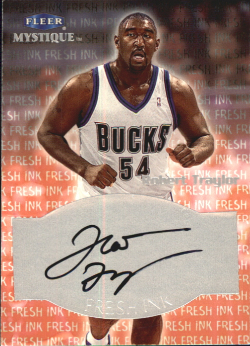 1999-00 Fleer Mystique Fresh Ink #37 Robert Traylor