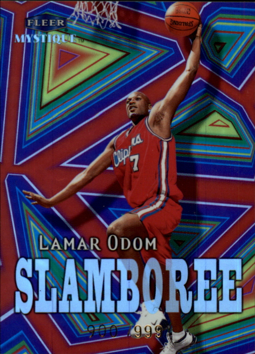 1999-00 Fleer Mystique Slamboree #S8 Lamar Odom