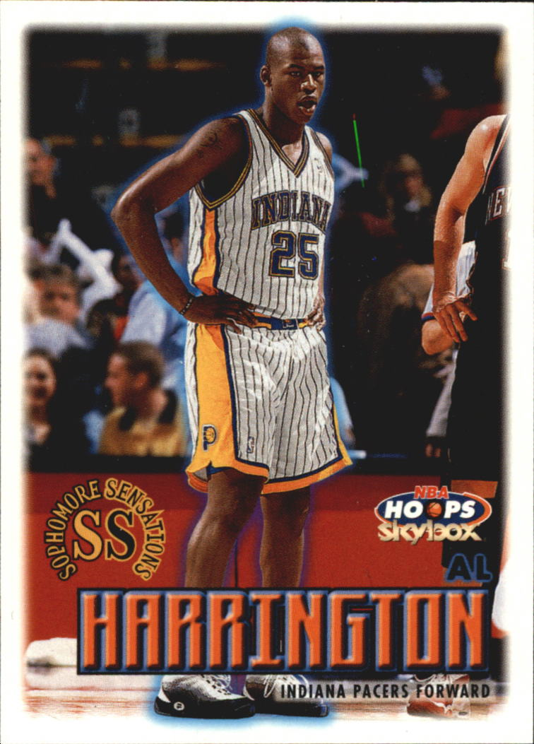 1999-00 Hoops #5 Al Harrington