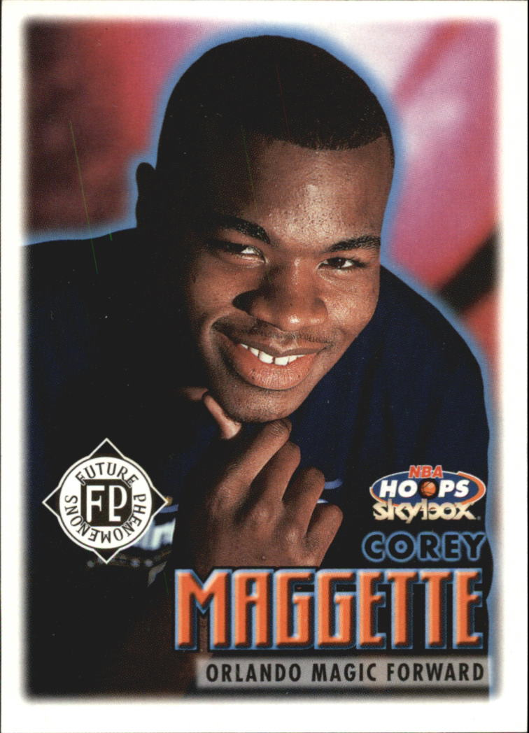 1999-00 Hoops #185 Corey Maggette RC