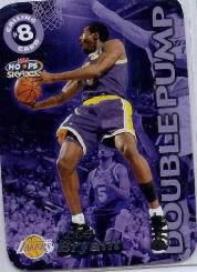 1999-00 Hoops Calling Card #CC1 Kobe Bryant