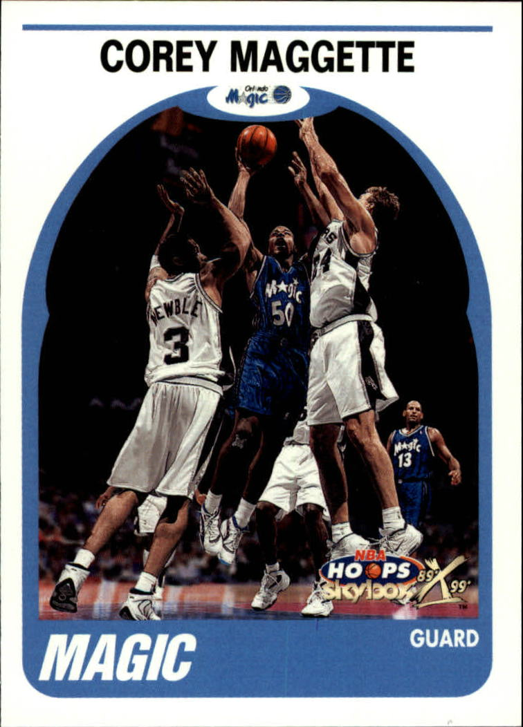1999-00 Hoops Decade #27 Corey Maggette RC