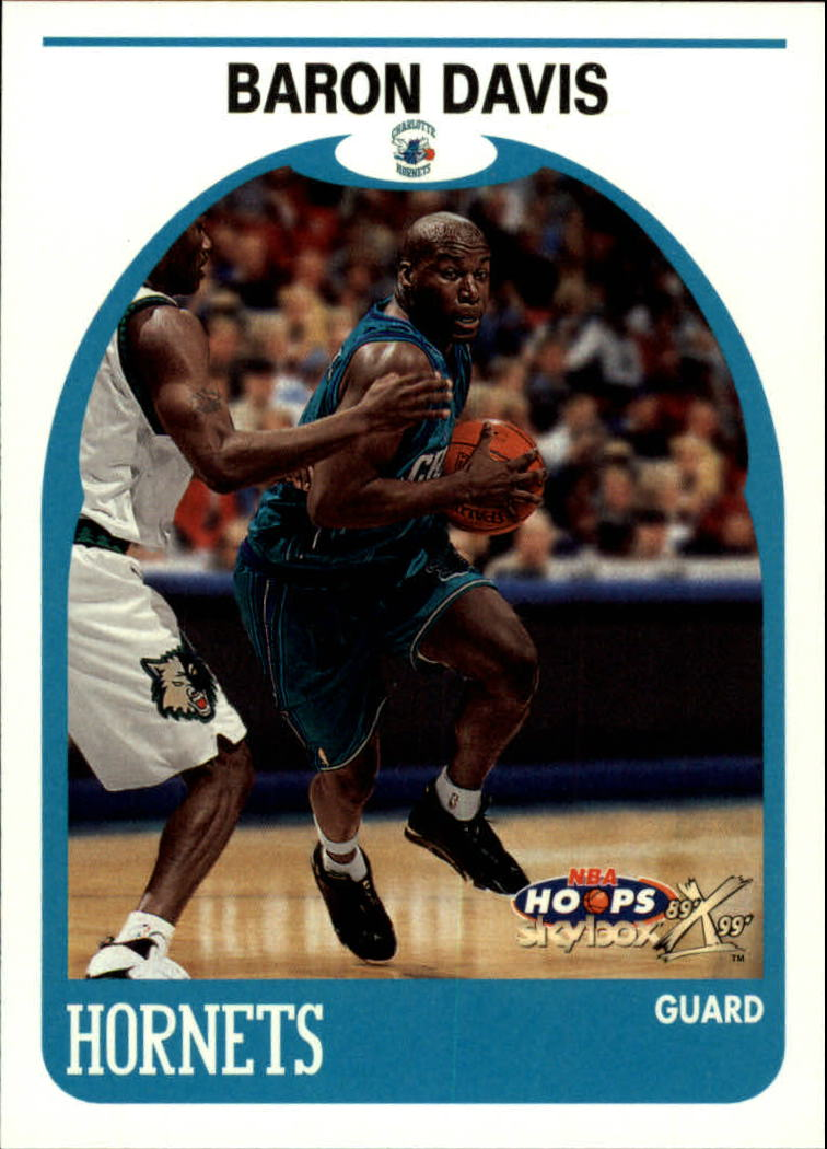 1999-00 Hoops Decade #31 Baron Davis RC