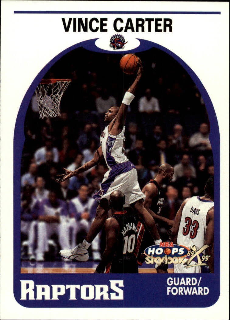 1999-00 Hoops Decade #49 Vince Carter