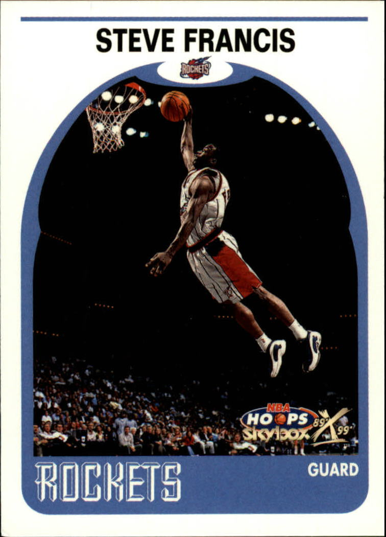 1999-00 Hoops Decade #117 Steve Francis RC