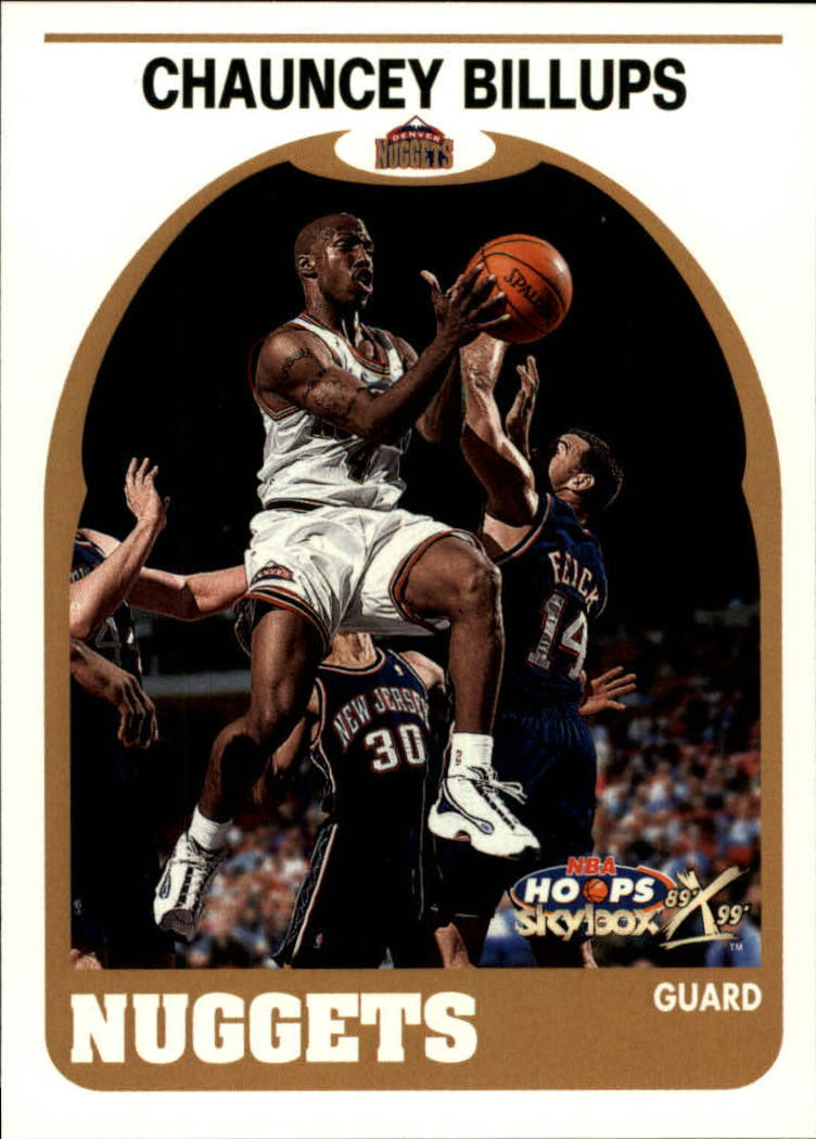 1999-00 Hoops Decade #132 Chauncey Billups