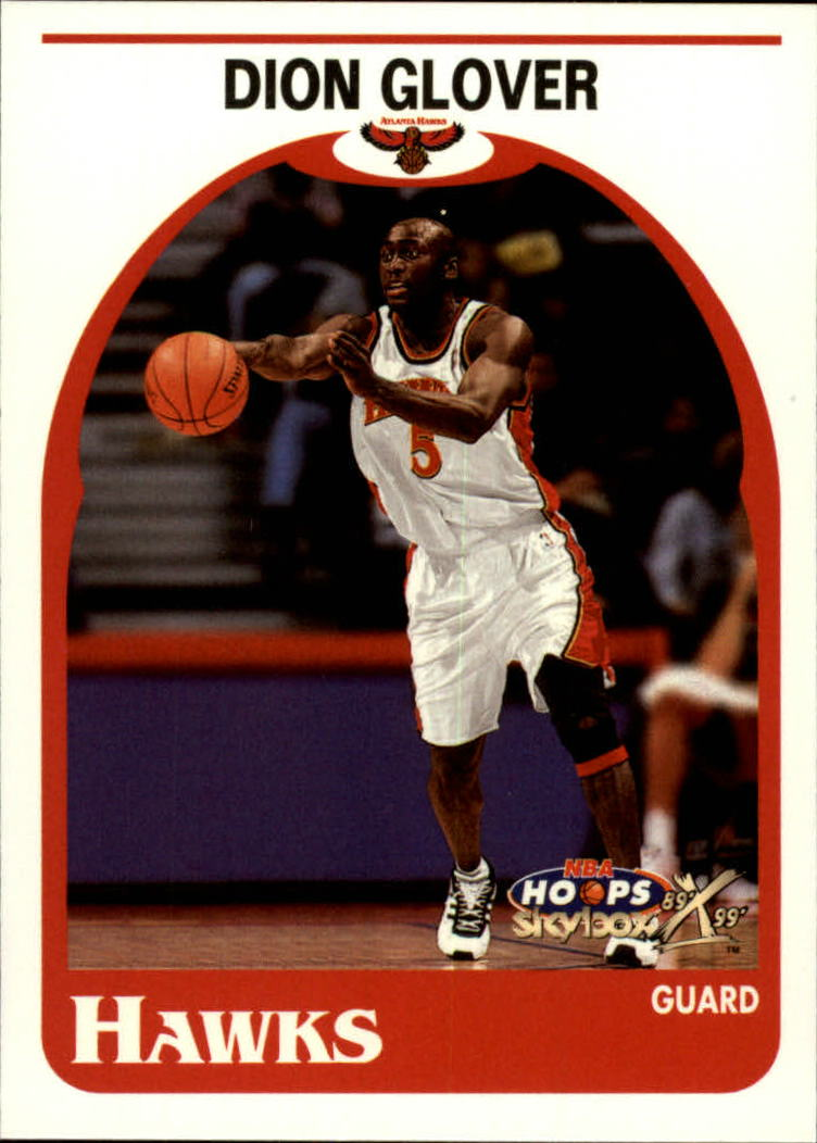 1999-00 Hoops Decade #142 Dion Glover RC
