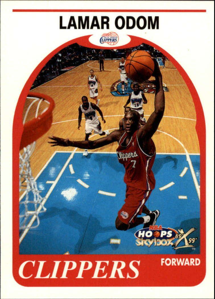 1999-00 Hoops Decade #159 Lamar Odom RC