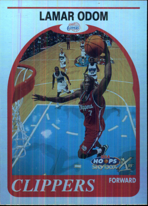 1999-00 Hoops Decade Hoopla Plus #159 Lamar Odom