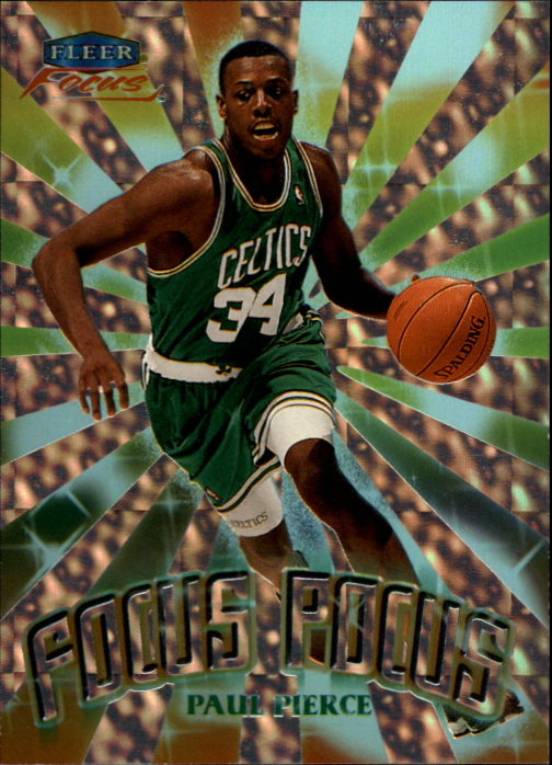 1999-00 Fleer Focus Focus Pocus #FP4 Paul Pierce