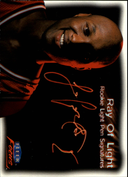 1999-00 Fleer Focus Ray of Light #RL8 Lamar Odom