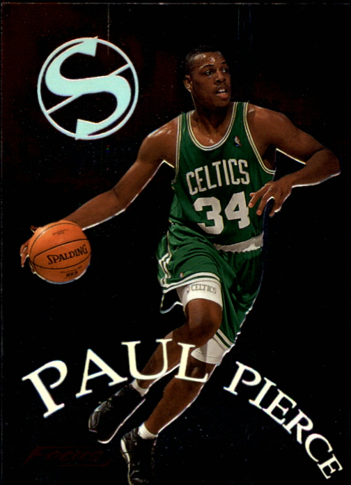 1999-00 Fleer Focus Soar Subjects #SS3 Paul Pierce