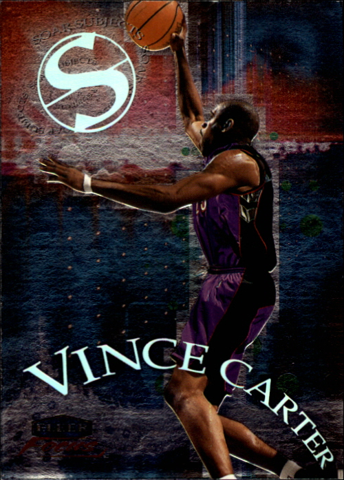 1999-00 Fleer Focus Soar Subjects #SS13 Vince Carter