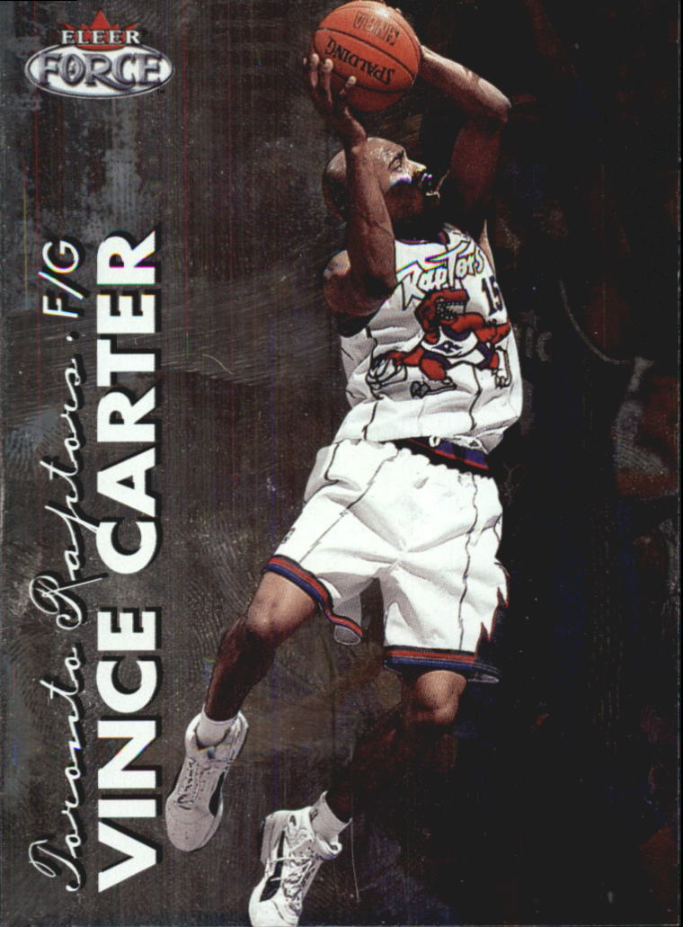 1999-00 Fleer Force #1 Vince Carter