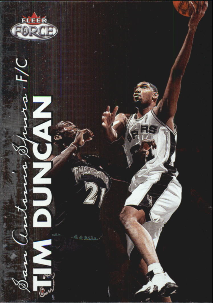 1999-00 Fleer Force #4 Tim Duncan
