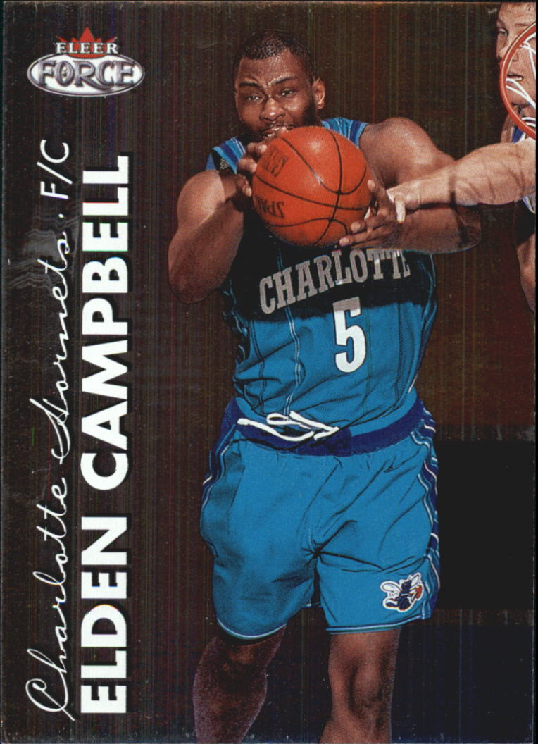 1999-00 Fleer Force #14 Elden Campbell