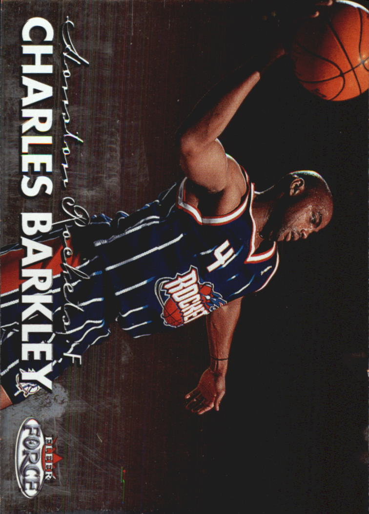 1999-00 Fleer Force #17 Charles Barkley