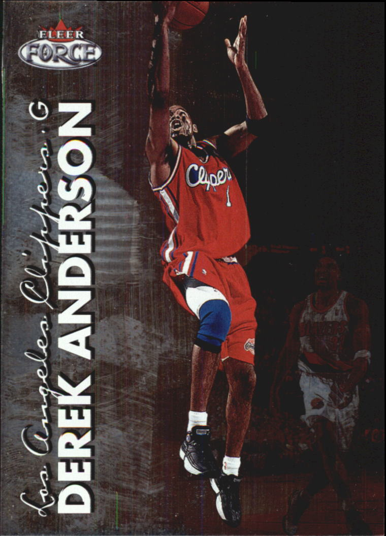 1999-00 Fleer Force #18 Derek Anderson