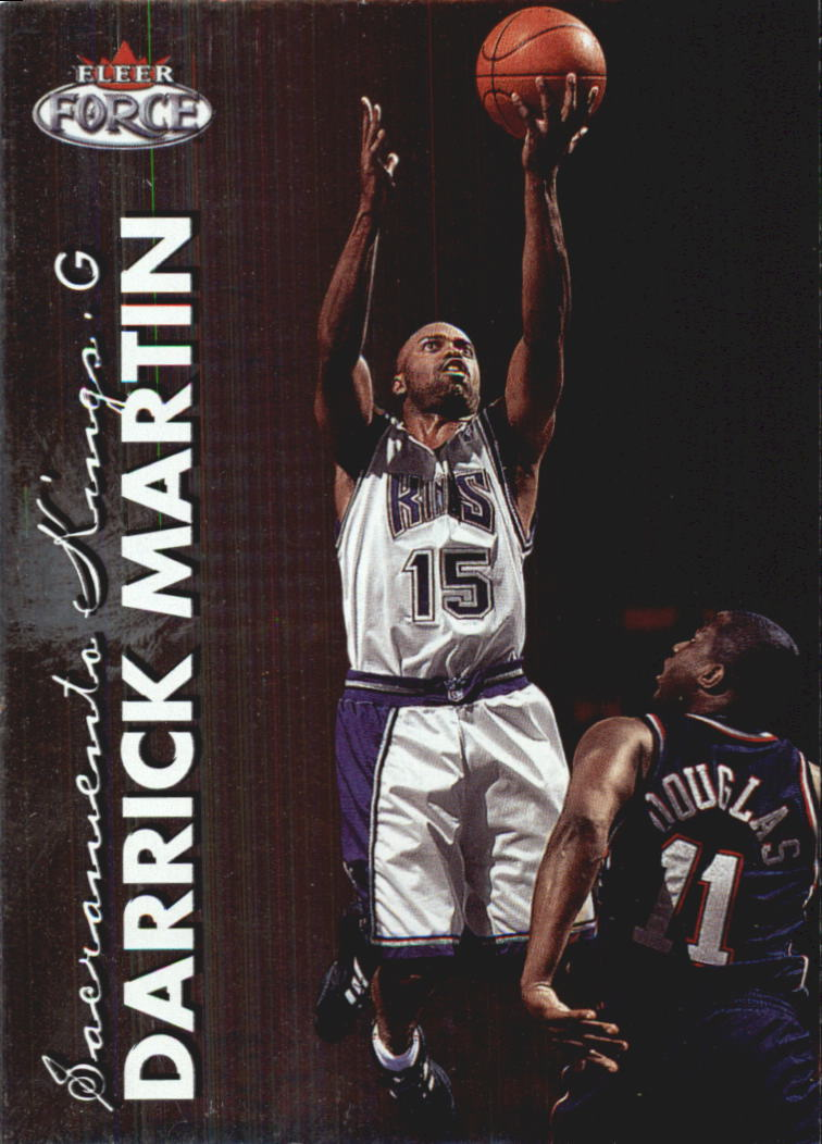 1999-00 Fleer Force #19 Darrick Martin