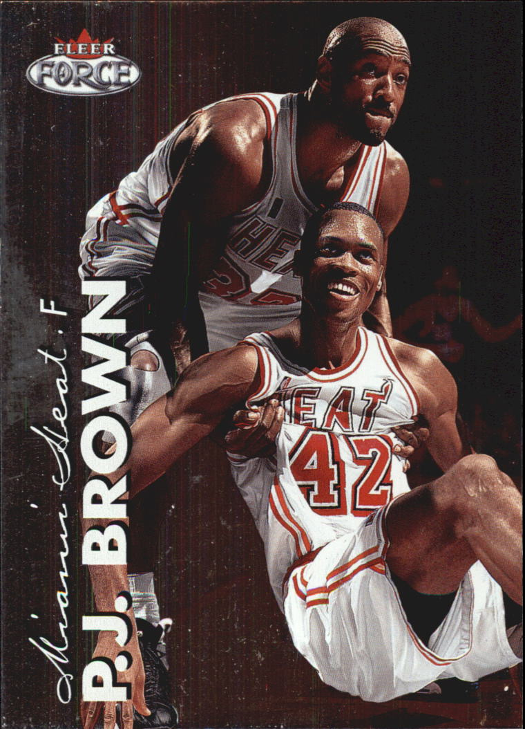 1999-00 Fleer Force #24 P.J. Brown